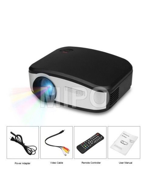 Mini LED Projector C6 with TV