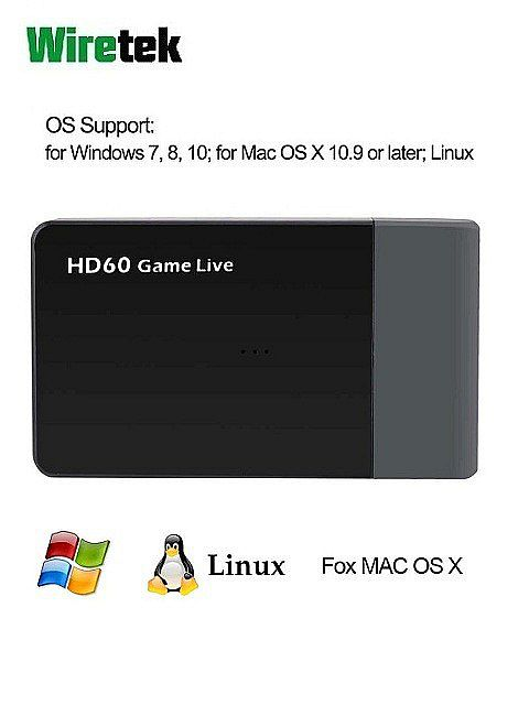 USB3.0 HDMI HD Video Capture HD60 Game Live Ezcap 261m Wiretek